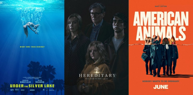 Posterized June 2018 Under The Silver Lake Hereditary