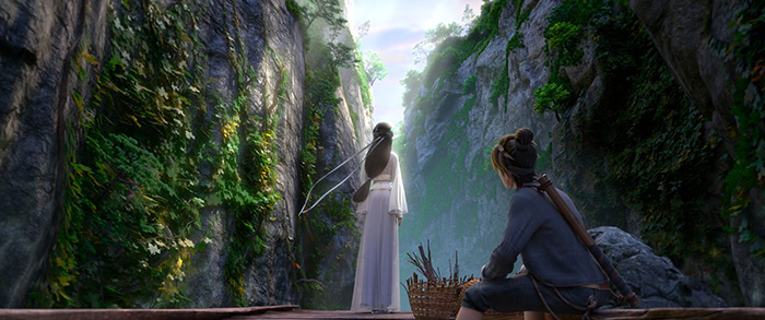 Fantasia Review White Snake Kinetically Reformats A Chinese Fable
