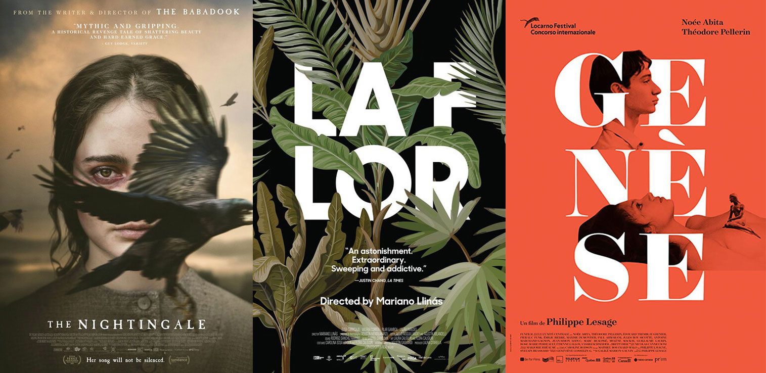 Posterized August 2019: 'The Nightingale,' 'La Flor,' 'Genesis,' and More