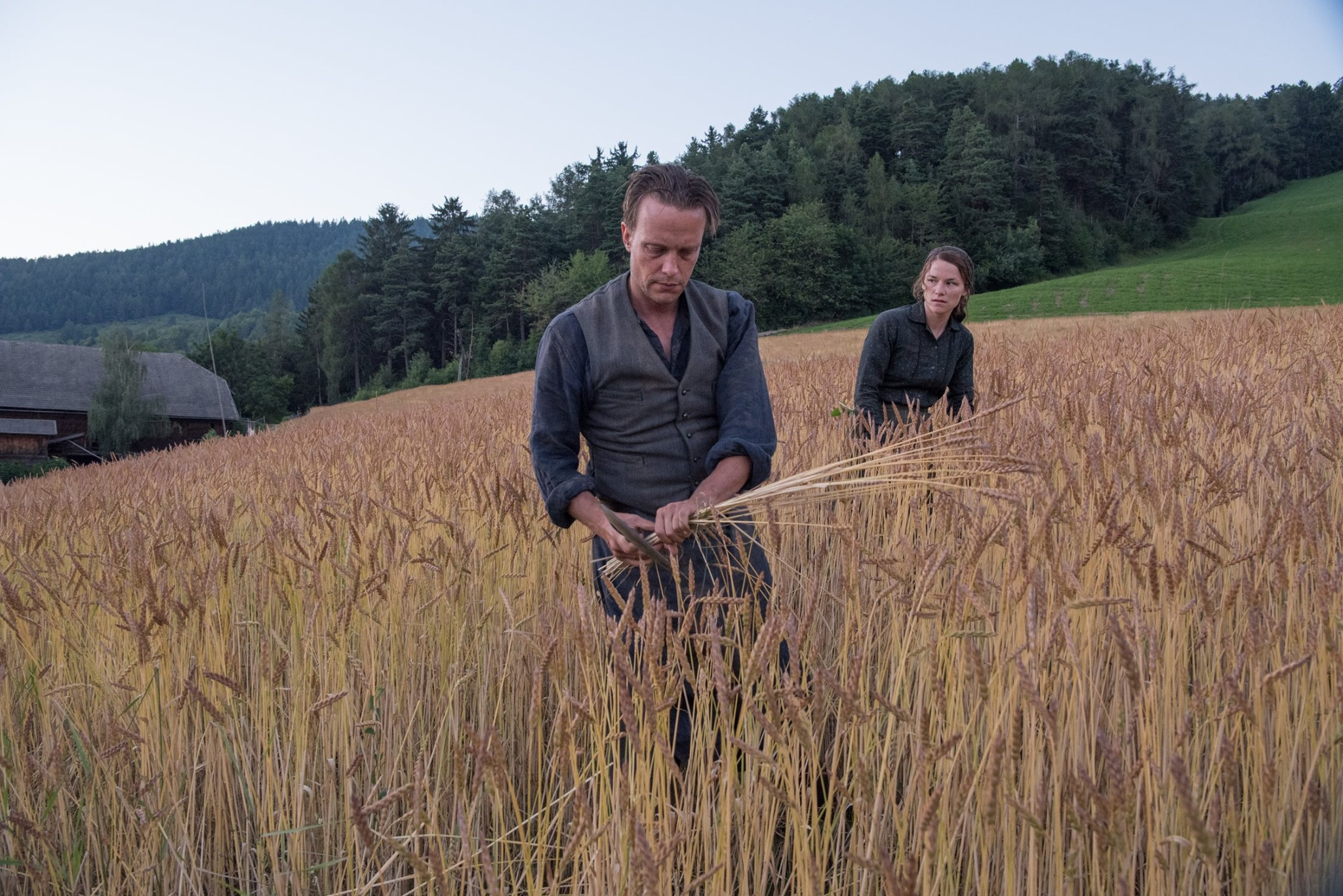 'A Hidden Life' Stars August Diehl & Valerie Pachner on Terrence Malick's Process