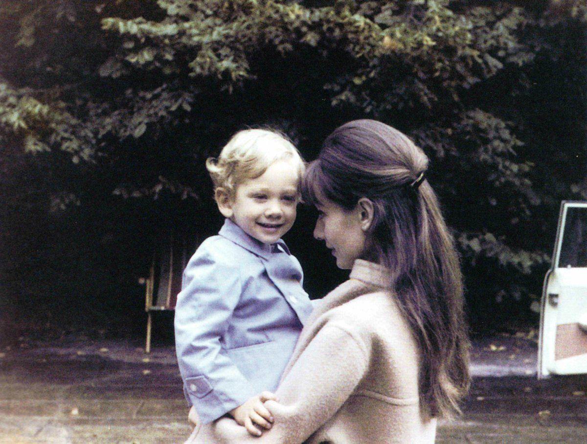 Sean Hepburn Ferrer and Audrey Hepburn 2.